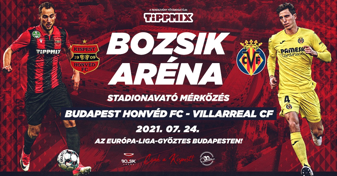 Budapest Honvéd FC - Villarreal CF