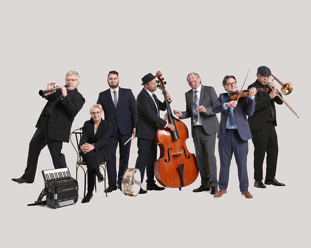 "Budapest Klezmer Band ""szoba"" koncertje"
