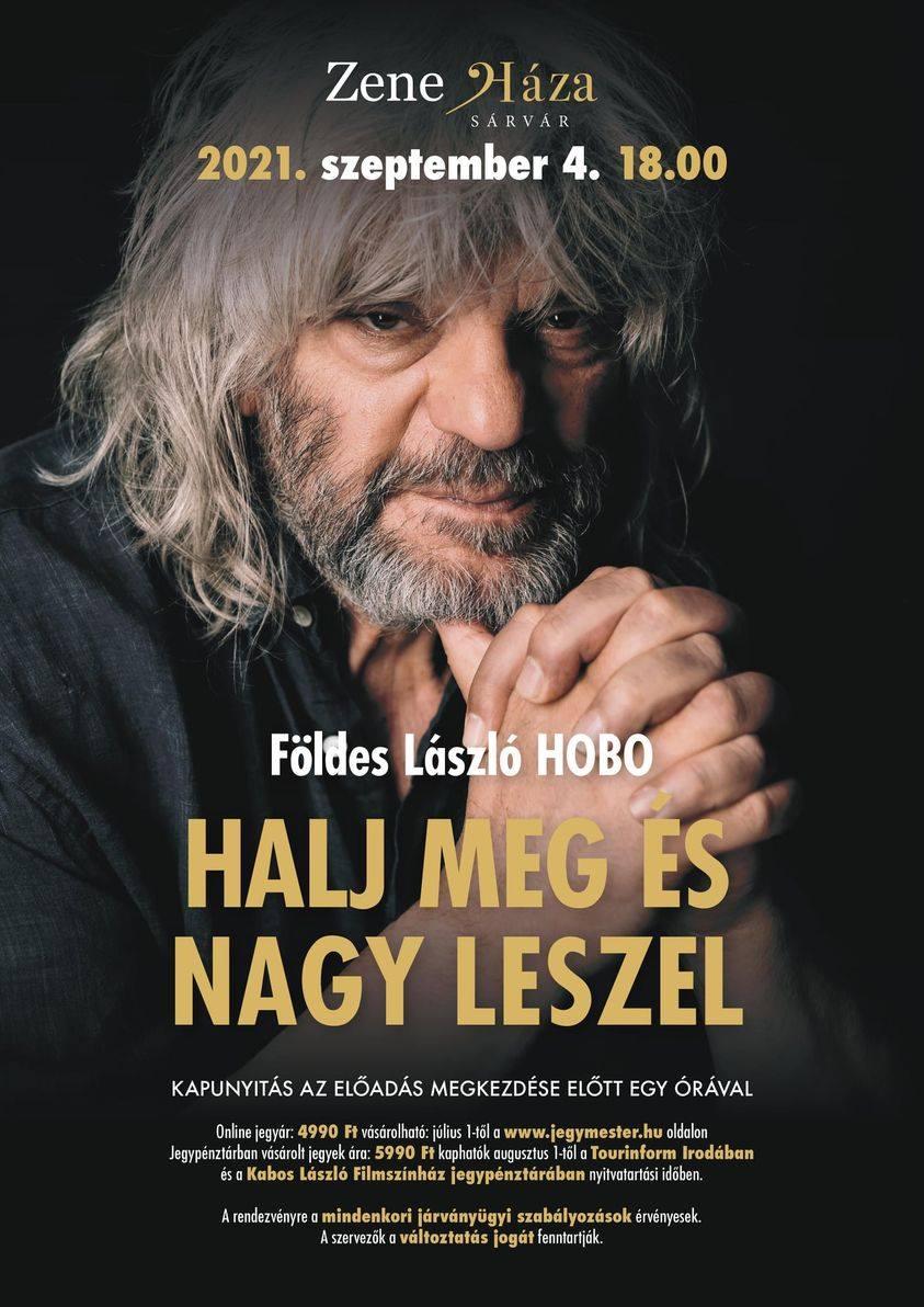 Földes László Hobo - Halj meg és nagy leszel