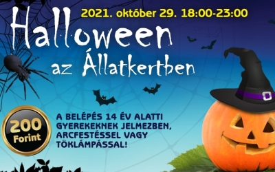 Halloween az Állatkertben!