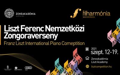 Liszt Ferenc Nemzetközi Zongoraverseny 2021