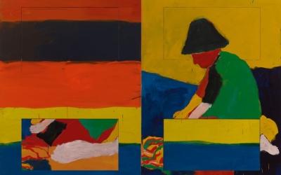 Sean Scully: Átutazó - retrospektív kiállítás