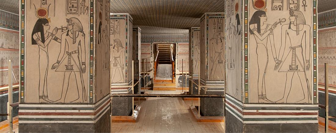TÁRLATVEZETÉS   II. Amenhotep és kora. A fáraó sírjának felfedezése