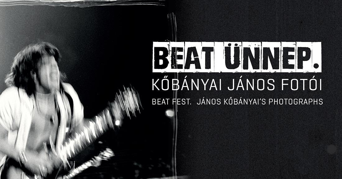 Online program! Szubjektív tárlatvezetés Nagy Feróval a Beat ünnep. Kőbányai János fotói c. kiállításon