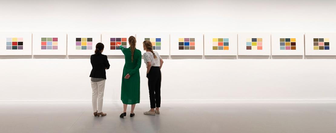 TÁRLATVEZETÉS   Gerhard Richter. Valós látszat