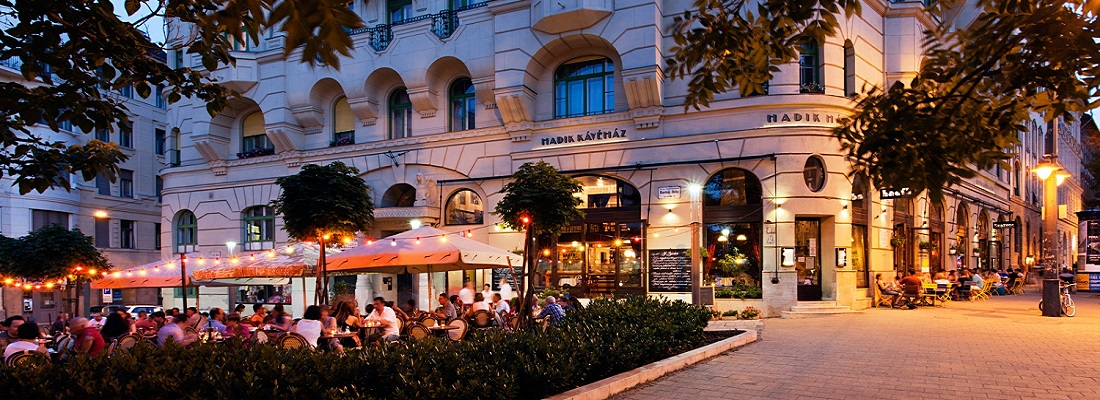 Hadik kávéház 1111 Budapest, Bartók Béla út 36.