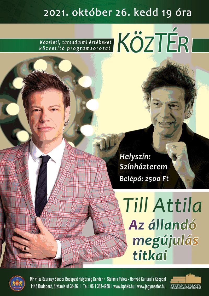 """KözTér Till Attila """"Tillával"""""""