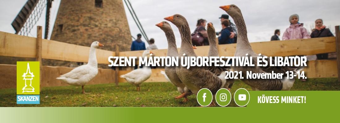 Szent Márton Újborfesztivál és Libator   2021.11.13-14.