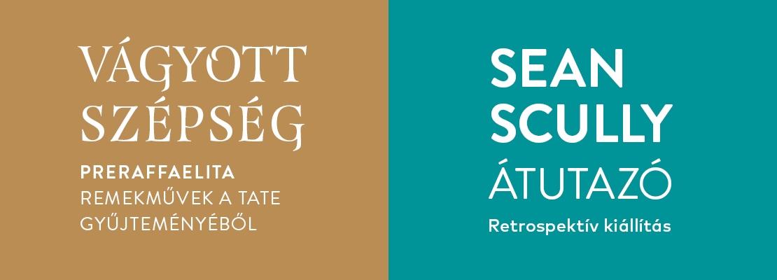 Kombinált | Sean Scully: Átutazó - retrospektív kiállítás - Vágyott szépség - Preraffaelita remekművek a Tate gyűjteményéből