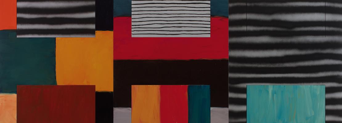 A fal mögött. Figurák és (hát)terek Sean Scully művészetében | Fehér Dávid művészettörténész online interaktív előadása
