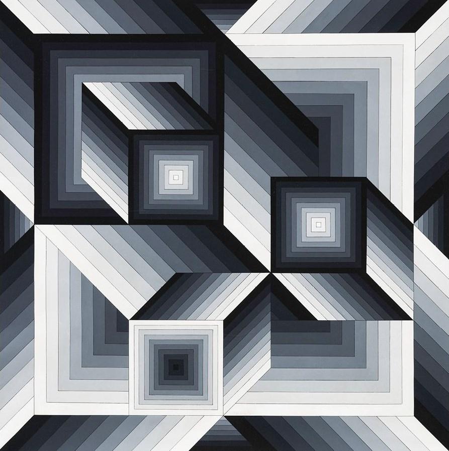 ÉLŐ ONLINE TÁRLATVEZETÉS | Vasarely és az illúziók