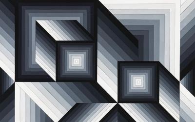 Vasarely és az illúziók